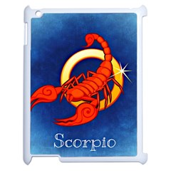 Zodiac Scorpio Apple Ipad 2 Case (white) by Mariart