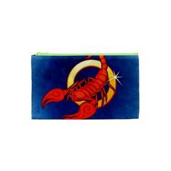 Zodiac Scorpio Cosmetic Bag (xs) by Mariart