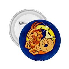 Zodiac Capricorn 2 25  Buttons by Mariart