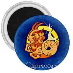 Zodiac Capricorn 3  Magnets by Mariart