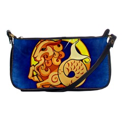 Zodiac Capricorn Shoulder Clutch Bags by Mariart