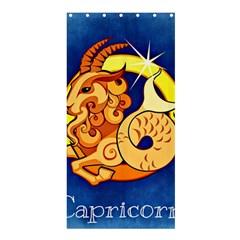 Zodiac Capricorn Shower Curtain 36  X 72  (stall)  by Mariart