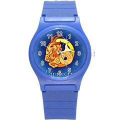 Zodiac Capricorn Round Plastic Sport Watch (s) by Mariart