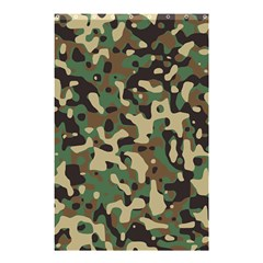 Army Camouflage Shower Curtain 48  X 72  (small)  by Mariart