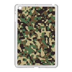 Army Camouflage Apple Ipad Mini Case (white) by Mariart