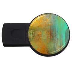 The Waterfall Usb Flash Drive Round (4 Gb) by theunrulyartist