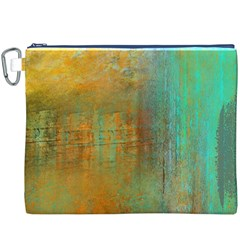 The Waterfall Canvas Cosmetic Bag (xxxl) by theunrulyartist