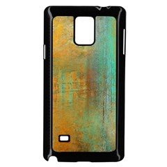 The Waterfall Samsung Galaxy Note 4 Case (black) by theunrulyartist