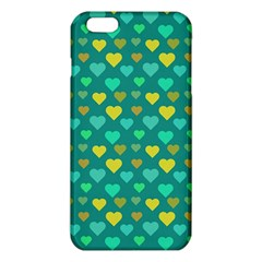 Hearts Seamless Pattern Background Iphone 6 Plus/6s Plus Tpu Case by Nexatart