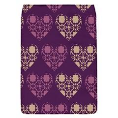 Purple Hearts Seamless Pattern Flap Covers (s)  by Nexatart