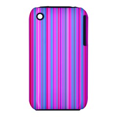Blue And Pink Stripes Iphone 3s/3gs by Nexatart