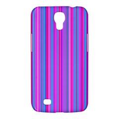 Blue And Pink Stripes Samsung Galaxy Mega 6 3  I9200 Hardshell Case by Nexatart