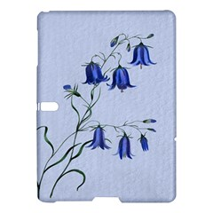 Floral Blue Bluebell Flowers Watercolor Painting Samsung Galaxy Tab S (10 5 ) Hardshell Case  by Nexatart