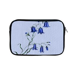 Floral Blue Bluebell Flowers Watercolor Painting Apple Macbook Pro 13  Zipper Case by Nexatart