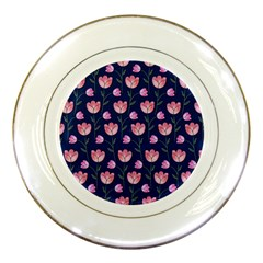 Watercolour Flower Pattern Porcelain Plates