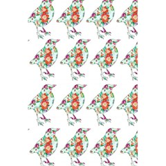 Floral Birds Wallpaper Pattern On White Background 5 5  X 8 5  Notebooks by Nexatart