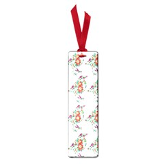 Floral Birds Wallpaper Pattern On White Background Small Book Marks by Nexatart