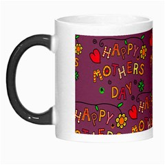 Happy Mothers Day Text Tiling Pattern Morph Mugs by Nexatart
