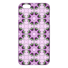Pretty Pink Floral Purple Seamless Wallpaper Background Iphone 6 Plus/6s Plus Tpu Case by Nexatart