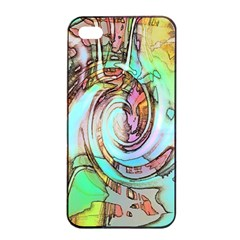 Art Pattern Apple Iphone 4/4s Seamless Case (black) by Nexatart