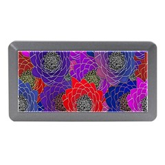 Colorful Background Of Multi Color Floral Pattern Memory Card Reader (mini) by Nexatart
