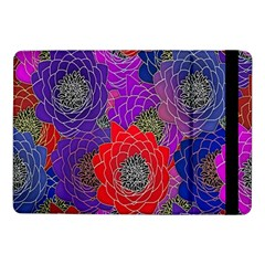 Colorful Background Of Multi Color Floral Pattern Samsung Galaxy Tab Pro 10 1  Flip Case