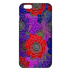Colorful Background Of Multi Color Floral Pattern Iphone 6 Plus/6s Plus Tpu Case