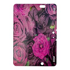 Oil Painting Flowers Background Kindle Fire Hdx 8 9  Hardshell Case by Nexatart