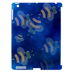 Seamless Bee Tile Cartoon Tilable Design Apple Ipad 3/4 Hardshell Case (compatible With Smart Cover) by Nexatart