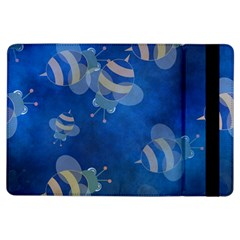 Seamless Bee Tile Cartoon Tilable Design Ipad Air Flip by Nexatart