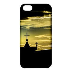 Graves At Side Of Road In Santa Cruz, Argentina Apple Iphone 5c Hardshell Case by dflcprints