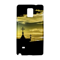 Graves At Side Of Road In Santa Cruz, Argentina Samsung Galaxy Note 4 Hardshell Case by dflcprints