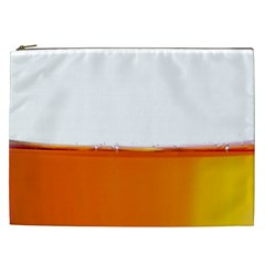 The Wine Bubbles Background Cosmetic Bag (xxl)  by Nexatart