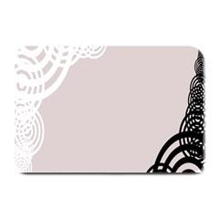 Circles Background Plate Mats by Nexatart