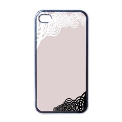 Circles Background Apple Iphone 4 Case (black) by Nexatart