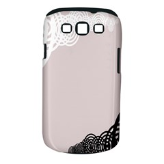 Circles Background Samsung Galaxy S Iii Classic Hardshell Case (pc+silicone) by Nexatart