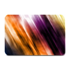 Colourful Grunge Stripe Background Plate Mats by Nexatart