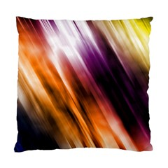 Colourful Grunge Stripe Background Standard Cushion Case (two Sides) by Nexatart