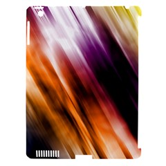 Colourful Grunge Stripe Background Apple Ipad 3/4 Hardshell Case (compatible With Smart Cover) by Nexatart