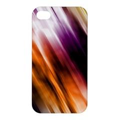 Colourful Grunge Stripe Background Apple Iphone 4/4s Premium Hardshell Case by Nexatart