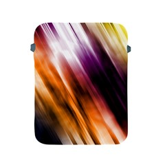 Colourful Grunge Stripe Background Apple Ipad 2/3/4 Protective Soft Cases by Nexatart