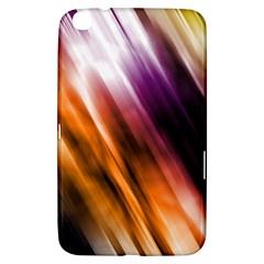 Colourful Grunge Stripe Background Samsung Galaxy Tab 3 (8 ) T3100 Hardshell Case