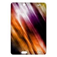 Colourful Grunge Stripe Background Amazon Kindle Fire Hd (2013) Hardshell Case by Nexatart