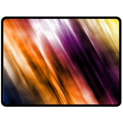 Colourful Grunge Stripe Background Double Sided Fleece Blanket (large)  by Nexatart