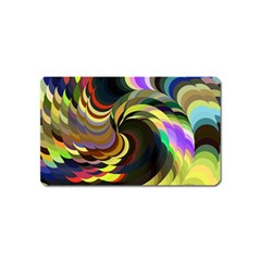 Spiral Of Tubes Magnet (name Card) by Nexatart