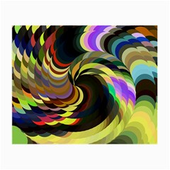 Spiral Of Tubes Small Glasses Cloth by Nexatart