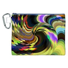 Spiral Of Tubes Canvas Cosmetic Bag (xxl) by Nexatart