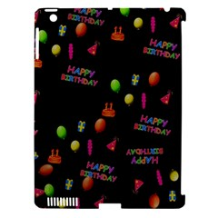 Cartoon Birthday Tilable Design Apple Ipad 3/4 Hardshell Case (compatible With Smart Cover) by Nexatart