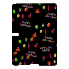 Cartoon Birthday Tilable Design Samsung Galaxy Tab S (10 5 ) Hardshell Case  by Nexatart