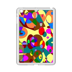 Abstract Digital Circle Computer Graphic iPad Mini 2 Enamel Coated Cases by Nexatart